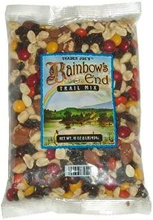 Trader Joe's Rainbow's End Trail Mix - Chocolate, Peanuts, Raisins, and Almonds (1 Pack, 16 oz.)