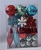 OKOR Christmas pendantDecoración del Árbol Encanto Bola De Navidad Bola De Nieve Gotas Forma Encanto Día De Navidad Decoración Colgante 4