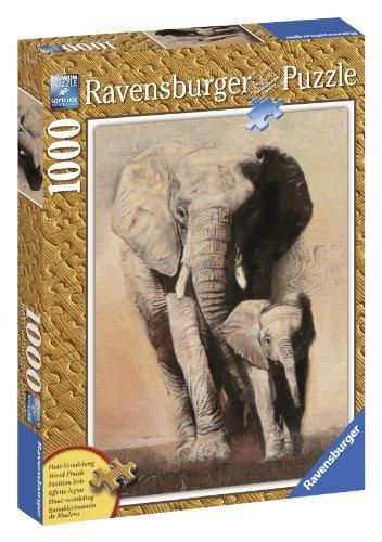 Ravensburger 19002 - Elefante, Puzzle 1000 Pezzi