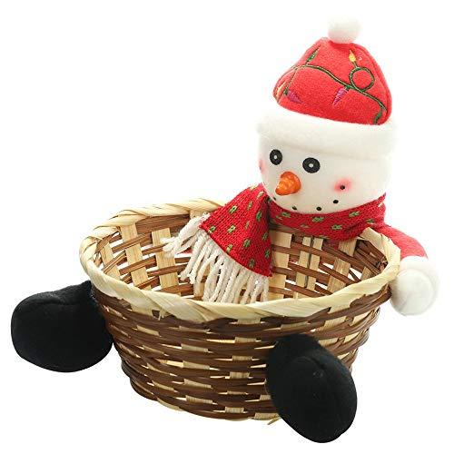 Silverdrew Decoraciones navideñas Cesta Frutas Navidad