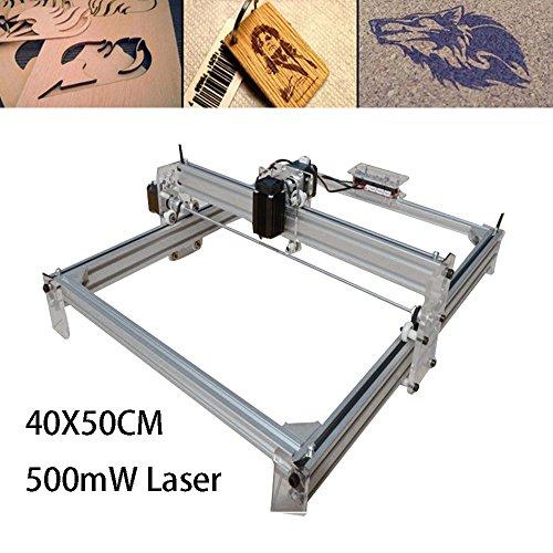 500MW Graviermaschine Gravur Maschine Mini USB DIY Graviergerät Engraving Drucker Fräsmaschine mit Schutzbrillen40x50cm