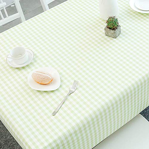 HEZESHOP Tischdecke kann gewaschen Werden Dekorative Tischdecke Tischdecke Rechteckige Tischdecke Tischdecke Kamin Arbeitsplatte 90X150CM