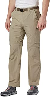 Men's Silver Ridge Convertible Pant, Breathable, UPF