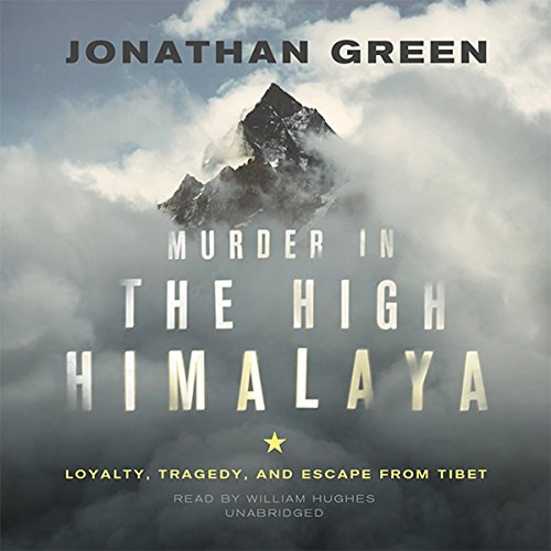 Murder in the High Himalaya audiobook cover art