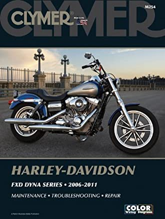 Harley-Davidson FXD Dyna Series 2006-2011 (Clymer Manuals: Motorcycle Repair) by Penton Staff(2000-05-24)