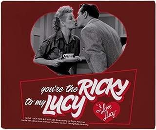 CafePress-I Love Lucy: Ricky to My Lucy-Soft Fleece Throw Blanket