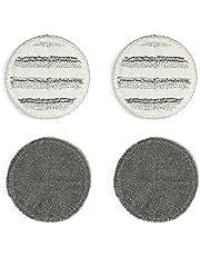 GOBOT 回転モップパッド 電動回転モップ 替え モップパッド パルスイクロス フローリング掃除 床掃除 替えモップ 替えキャッチモップ 替えパッド 床掃除道具 4枚入り