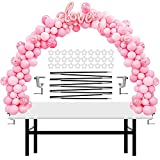 IDAODAN Table Balloon Arch Kit Adjustable for Baby Shower, Birthday, Wedding, Festival, Graduation Decorations Party Supplies Christmas Decorations