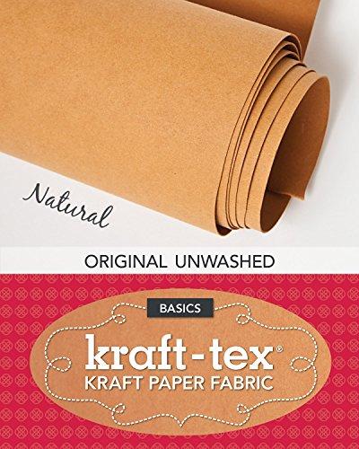 kraft-tex (TM) Basics Roll, Natural: Kraft Paper Fabric