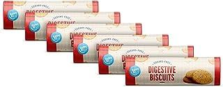 Amazon-merk: Happy Belly - volkorenkoekjes, suikervrij, 6 x 400 g