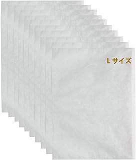 ATPWONZ ふんわり不織布保管袋 Lサイズ(52X70cm)10枚入り バッグ収納袋 保管袋 ほこりよけ 通気性優しい 革製の鞄や衣類の収納に最適