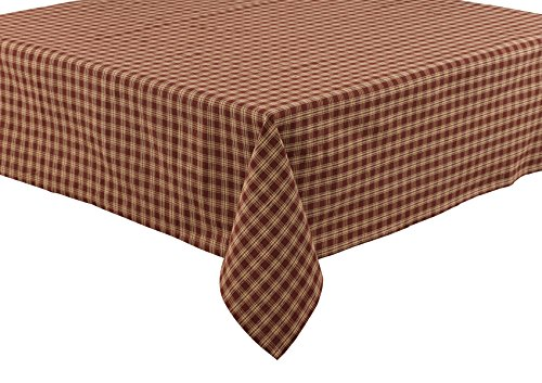Park Designs Sturbridge Tablecloth, 54 x 54, Wine