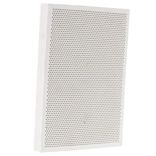 Placa Soldada de Cerámica Diseño Panal para Fabricación Joyerías