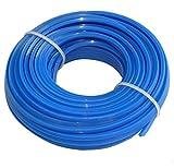 Aerzetix - Profilo quadrato filo blu di nylon 3mm 15m per tagliaerba taglierina trimmer decespugliatore