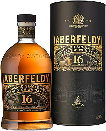Aberfeldy Highland Single Malt Whisky 16 Jahre, 700ml