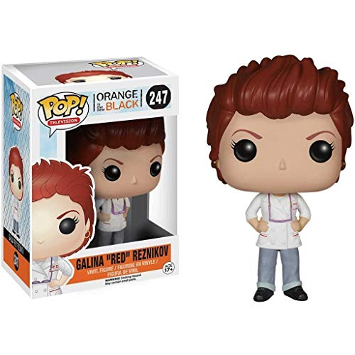 Funko Pop Television : Orange is The New Black - Galina Red Reznikov 3.75inch Vinyl Gift for TV Fans Superhappy
