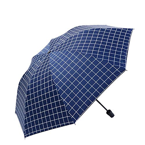 Anti UV Sun Rain Umbrella Mujeres Windproof Travel Compact 3 Paraguas plegable