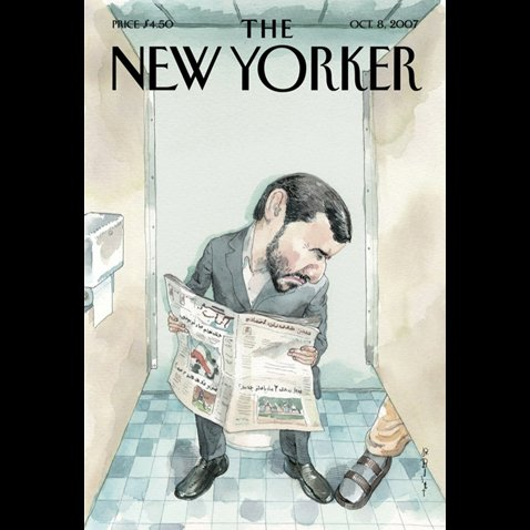 The New Yorker (October 8, 2007) cover art