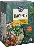 Fazer Oatrice Haferreis 1kg x 8 Pack - Reis Alternative aus Hafer - Garzeit 13 Minuten
