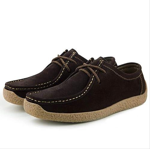 Chaussures De De De Mocassins en Cuir Véritables d'hommes, Chaussures De Cuir Mocassins Faits à La Main De Mocassins 7d9