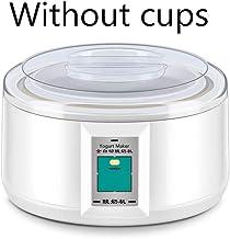 1.5L Automatic Yogurt Maker with 7 Jars Multifunction Tool Stainless Steel Liner Natto Rice Wine Pickle Yogurt Machine wit...