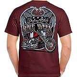 Biker Life USA 2019 Bike Week Daytona Beach Patriot Men's Fashion T-Shirt