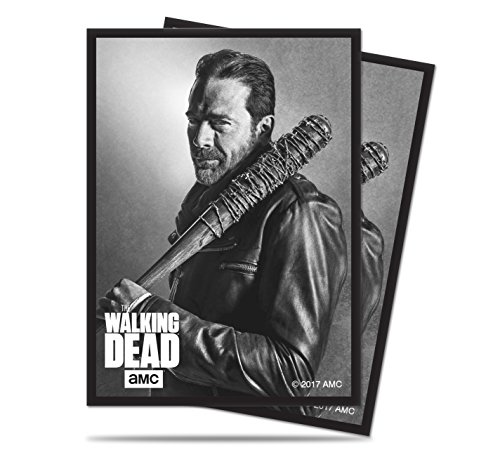 Ultra Pro Officially Licensed The Walking Dead Negan and Lucille Deck Protector Sleeves (50ct)