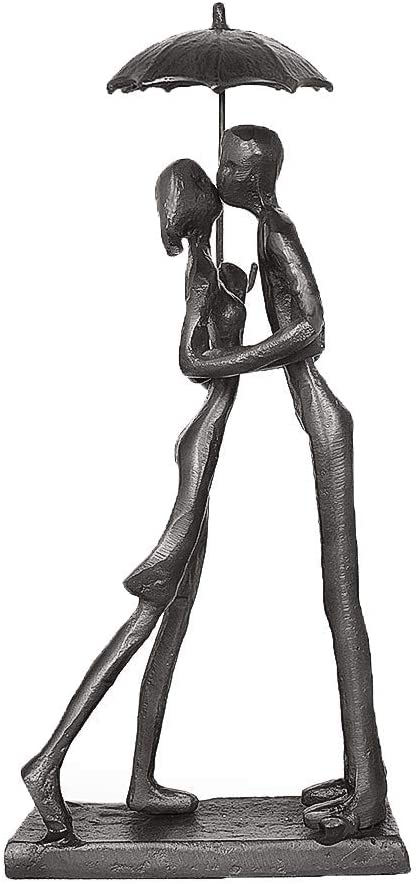 Dreamseden Affectionate Couple Art Passionate Trust Lo Iron Sculpture Directly managed store