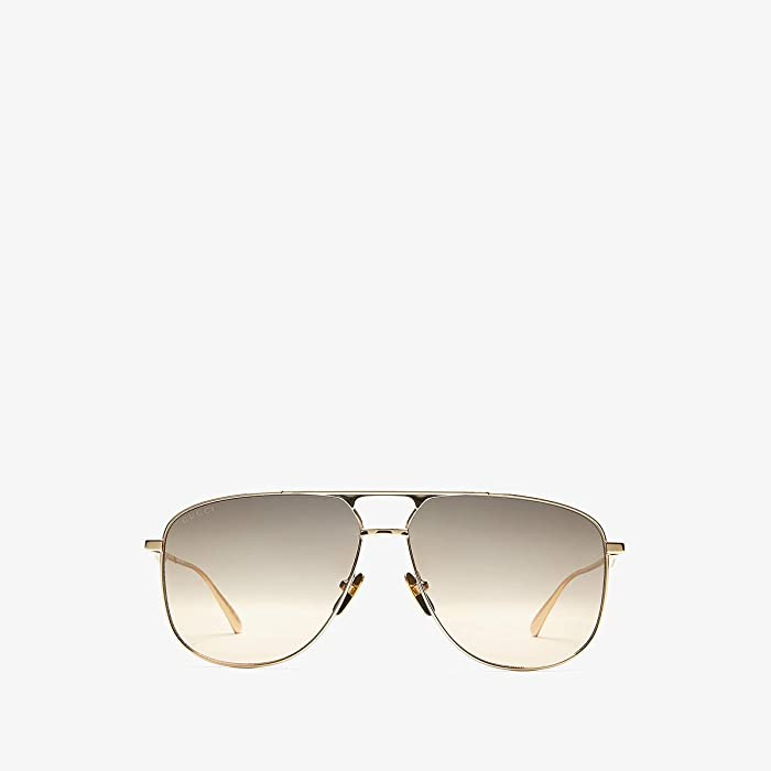 Gucci  GG0336S (Gold) Fashion Sunglasses