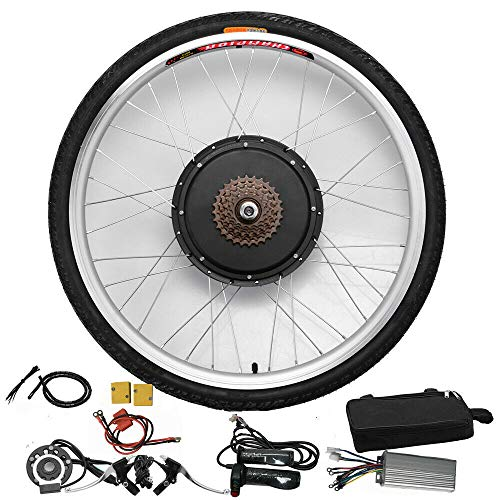 HaroldDol Elektrische fietsombouwset voor achterwiel, 26 inch, 48 V, 1000 W, E-Bike Kit