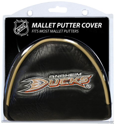 Team Golf NHL Anaheim Ducks Golf Club Mallet Putter Headcover, Fits Most Mallet Putters, Scotty Cameron, Daddy Long Legs, Taylormade, Odyssey, Titleist, Ping, Callaway -  805560