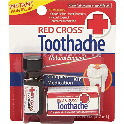 RED Cross Toothache Outfits 1/8 OZ