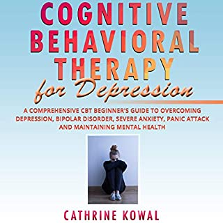 Cognitive Behavioral Therapy for Depression audiobook cover art