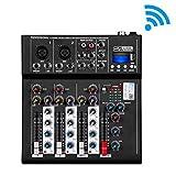 Best Usb Mixers - Depusheng HT4 Professional 4 Channel USB Jack Portable Review