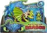 Dragons Vómito y rudo y Testaditufo, 1 dragón de Dos Cabezas y 1 Vikingo Armado, a Partir de 4 años
