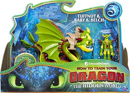 Dragons Vomito e Rutto e Testaditufo, 1 Drago a Due Teste e 1 Vichingo Armato, dai 4 Anni