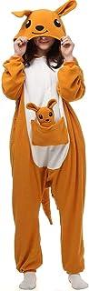FZH Schlafanzug Pyjamasea Frosch Kigurumi Tier Onesie Für Erwachsene Anime Cosplay Kostüm Pyjama Männer Frauen Onsie Einteilige Pyjamas Mädchen Junge Strampler