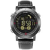 WenTao Reloj Inteligente Digital Inteligente Relojes Deportivos Para Hombres Deportes Al Aire Libre Con Bluetooth Calorías Podómetro Fitness Tracker Para Android IOS Teléfono Regalos Negro