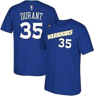 Kevin Durant Golden State Warriors 2015 NBA Finals Blue Name & Number T-Shirt