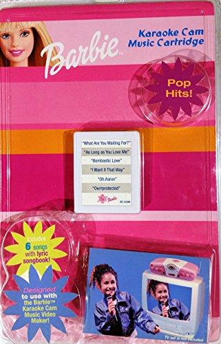 Barbie Karaoke Cam Music Cartridge - Pop Hits!
