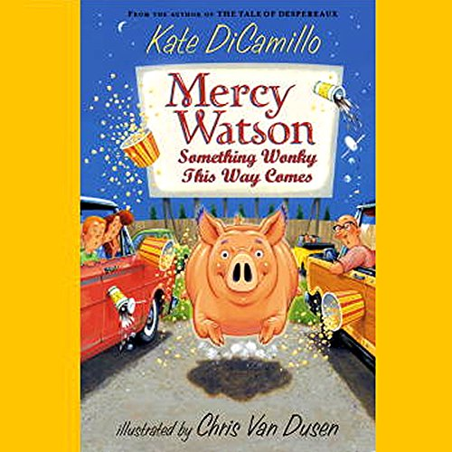 Something Wonky This Way Comes     Mercy Watson #6              By:                                                                                                                                 Kate DiCamillo                               Narrated by:                                                                                                                                 Ron McLarty                      Length: 25 mins     16 ratings     Overall 4.6