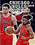 Zach LaVine and the Chicago Bulls: The Basketball Coloring and Activity Book: 2019-2020 Season
