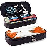 Creative Skyscraper Leather Pencil Case Pouch Cute Pen Pencil Case Box