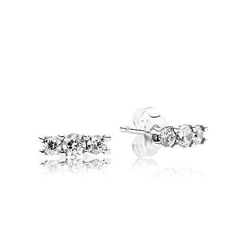 63c7152ba Pandora Women Silver Stud Earrings - 290725CZ