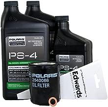 Polaris PS-4 Oil Change Kit for 2018 RZR XP 1000 & RZR S 1000