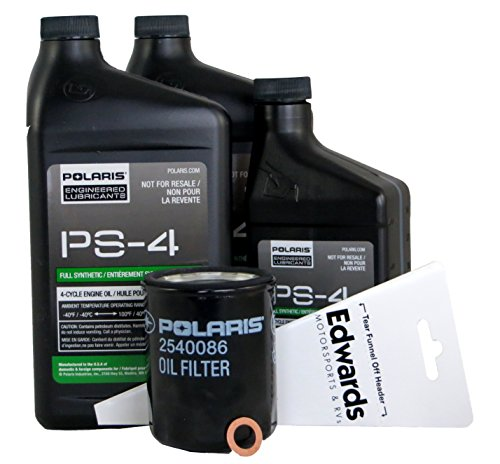 Polaris PS-4 Oil Change Kit for 2018 RZR XP 1000 & RZR S 1000