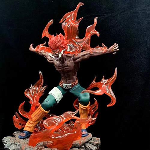 ZLYCZW Naruto Figur - Maito GAI (Might Guy), Animationsderivate/Peripherieprodukte, Atcion PVC Figur Sammlerstück Cartoon Character Toy