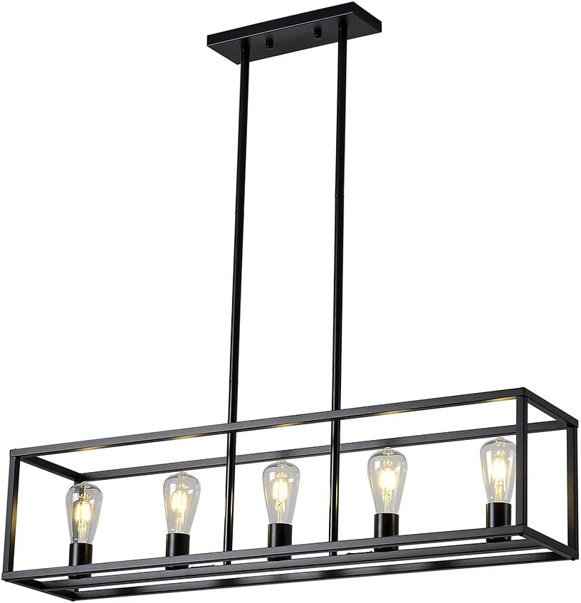 XILICON 5 Max 41% OFF Light Dining Room Selling and selling Island Chandelier Kitchen Farmhouse
