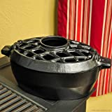 John Wright Company Steamer - 3 Qt Black Matte-Lattice