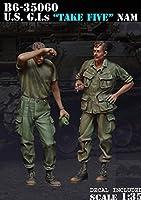 Bravo6 B6-35060 1/35 米 兵士ベトナム 小休止(2体セット)